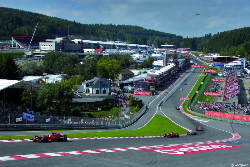 F1 - Circuit de Spa Francorchamps