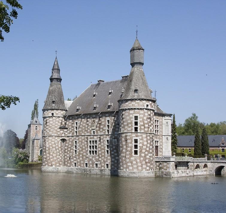 Le Château de Jehay à Amay ©FTPL P.Fagnoul