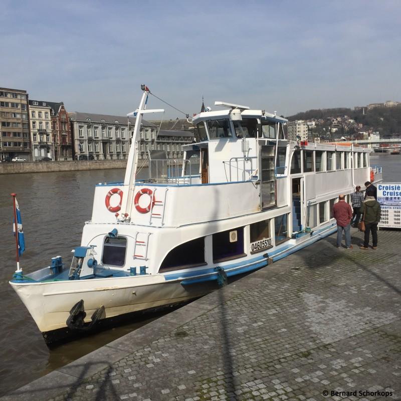 La navette fluviale de Liège (Atlas V)