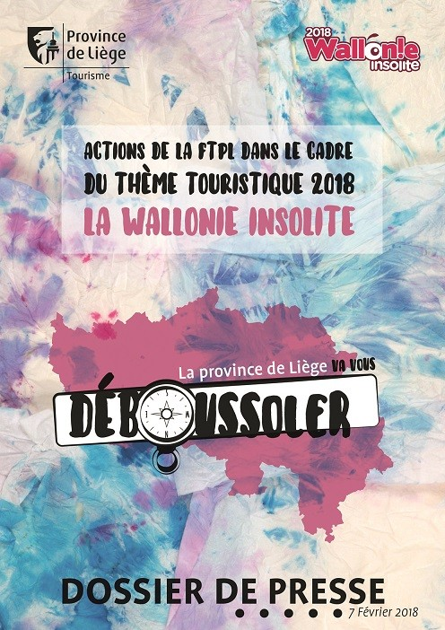 La Wallonie insolite - Dossier de presse