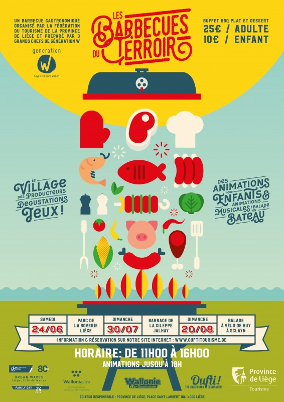 Les Barbecues du terroir - Affiche