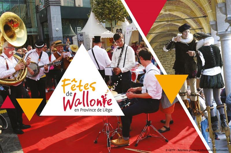 Les Fêtes de Wallonie en province de Liège