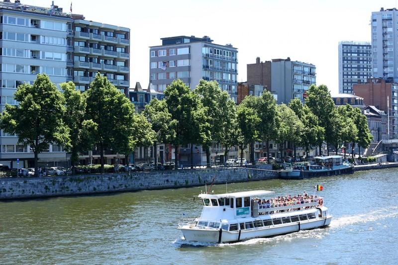 Liège - The river shuttle boat