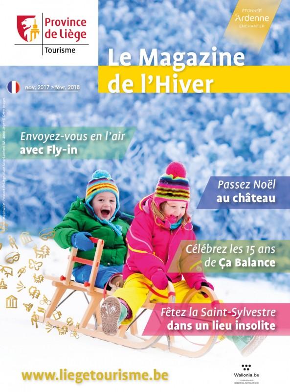 Magazine de l'hiver 2017 - Couverture