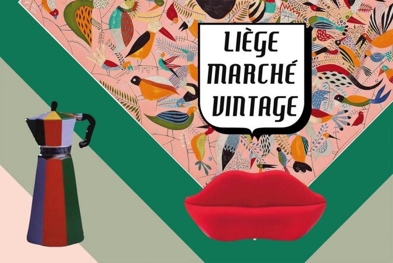 Marché Vintage - Liège