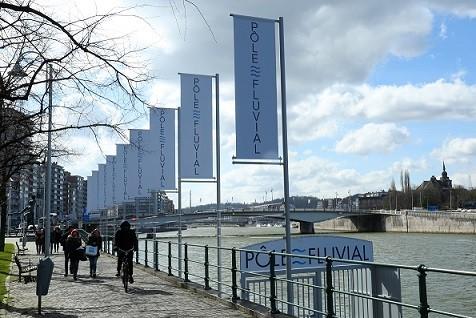 Le pôle fluvial de Liège ©FTPL P.Fagnoul