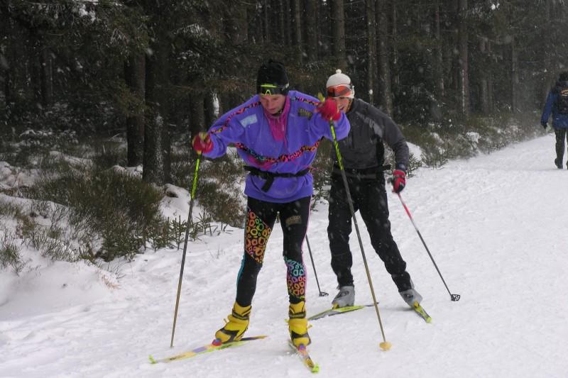 Ski de fond dans les Cantons de l'Est