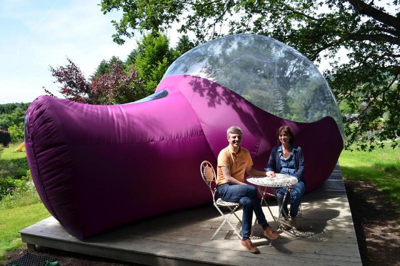 Sleep in a bubble
