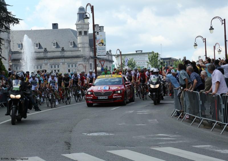 Tour de France 2017 en province de Liège