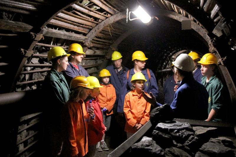 Vue intérieure de Blegny-Mine