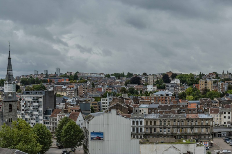 Vue panoramique de Verviers