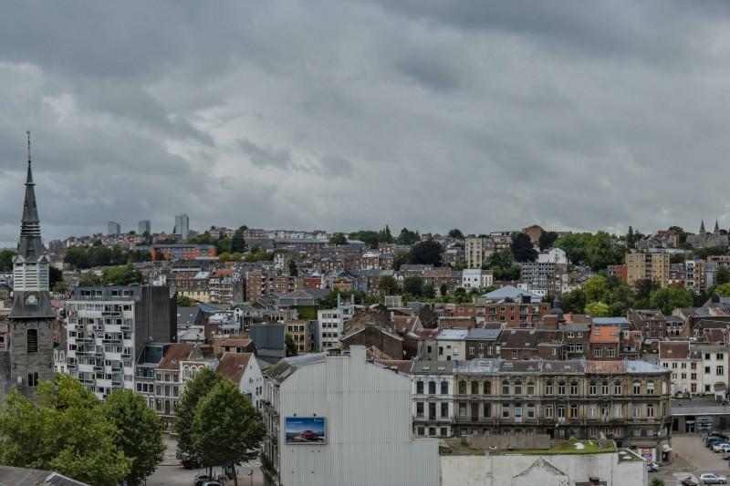 Vue panoramique de Verviers