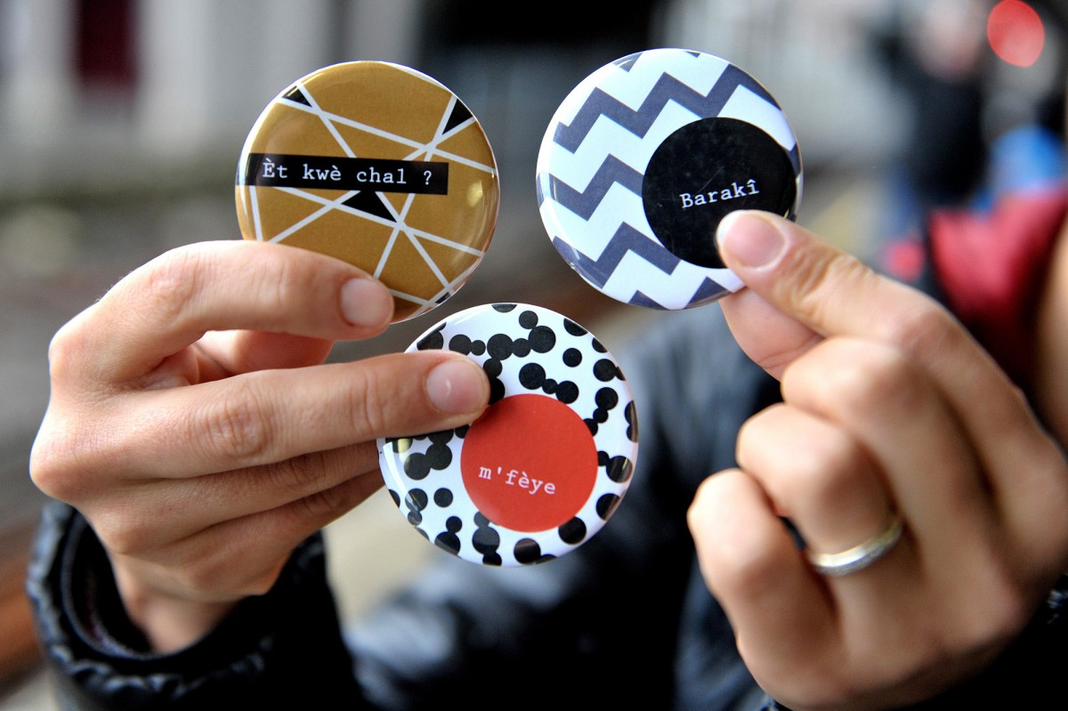 Badjawe - créations graphiques - Présentation de 3 badges