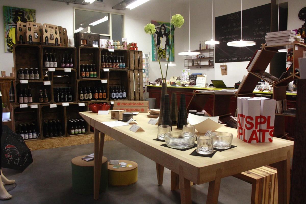 Wattitude - Intérieur magasin - Liège