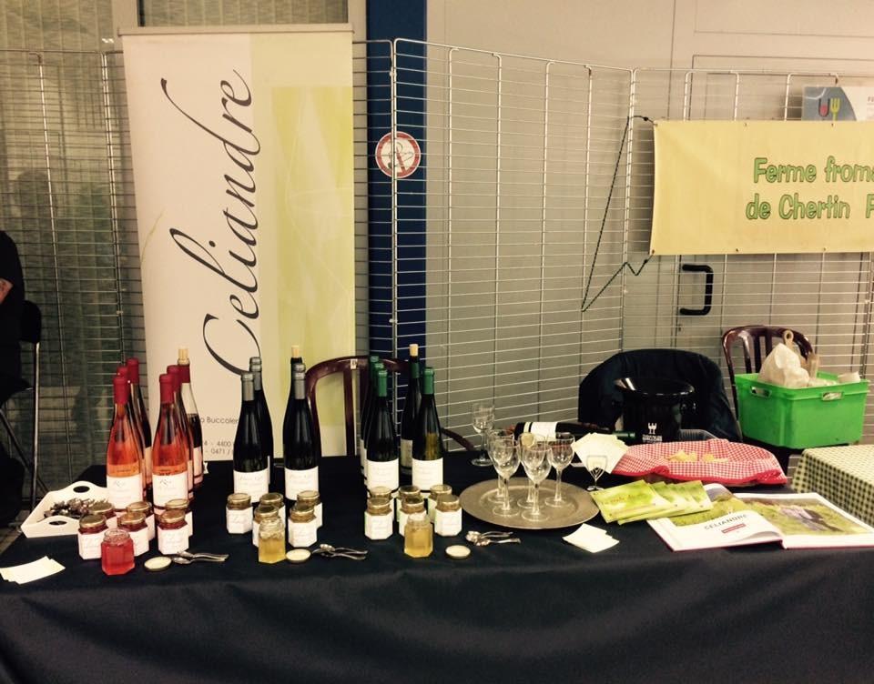 Domaine Celiandre - Flémalle - Expo de bouteilles