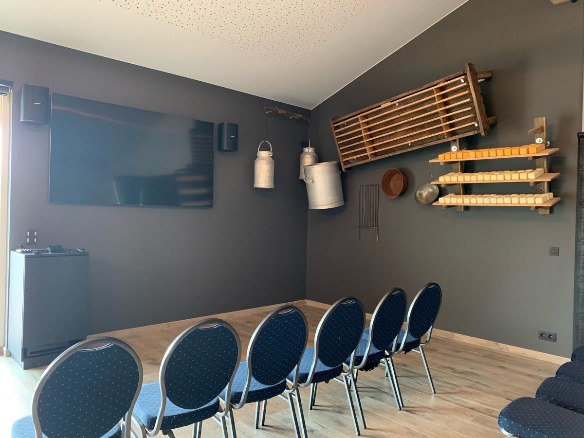 Nouvelle salle Fromagerie du Vieux Moulin ©Fromagerie du Vieux Moulin 06-2021