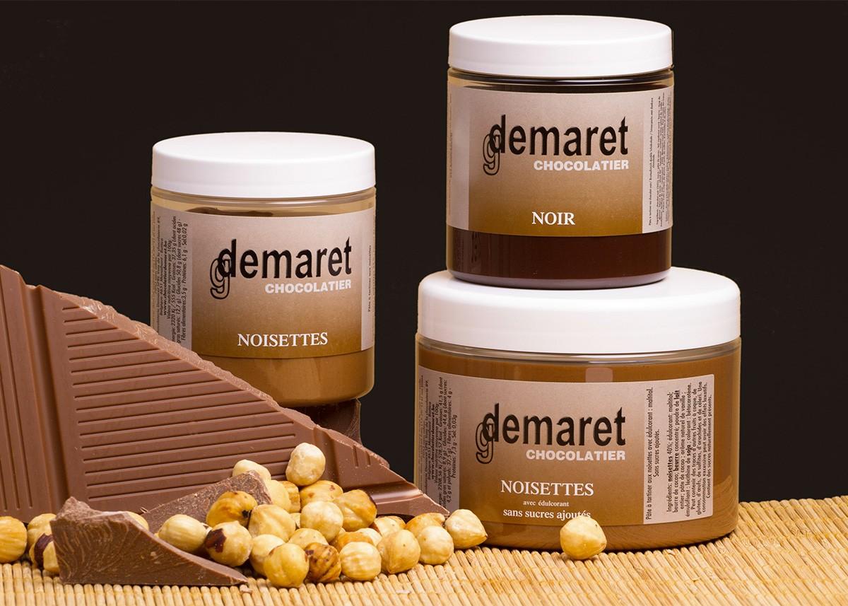 Chocolatier Demaret-Pâte à tartiner