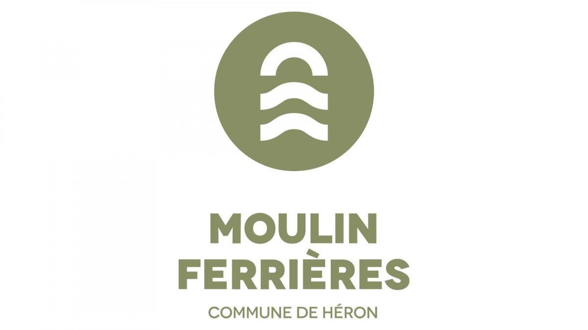 Logo Moulin Ferrières - Commune de Héron