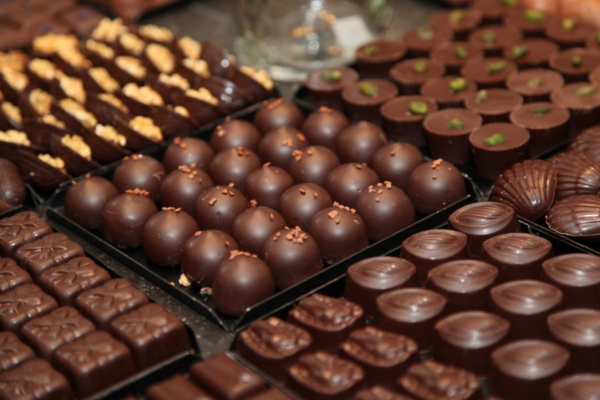 Pralines-chocolat-noir