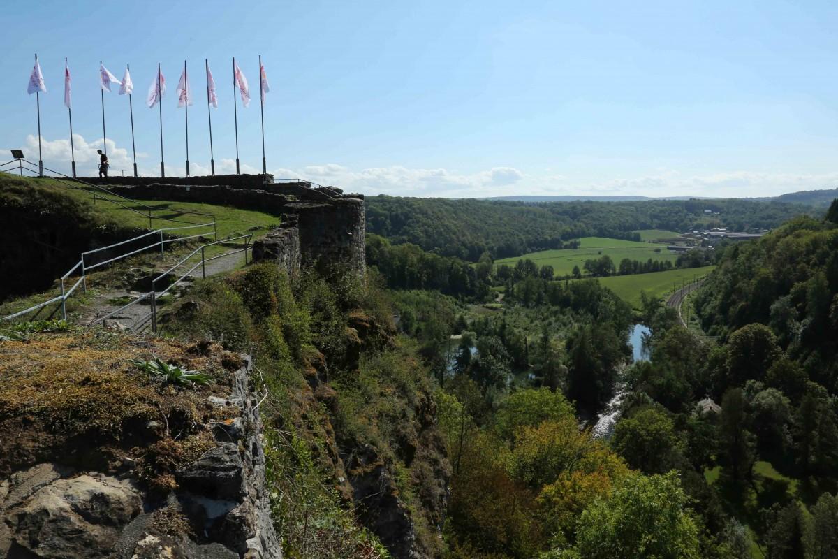 Château Fort de Palogne - Ruines - Vue panoramique