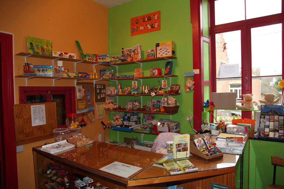 Musée du Jouet et de l'Enfant - Accueil