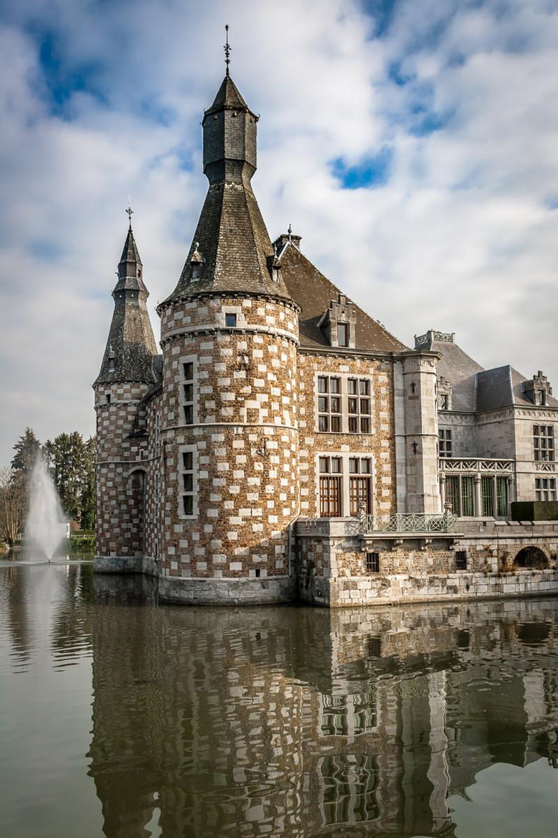 Château de Jehay - Amay - Vue extérieure