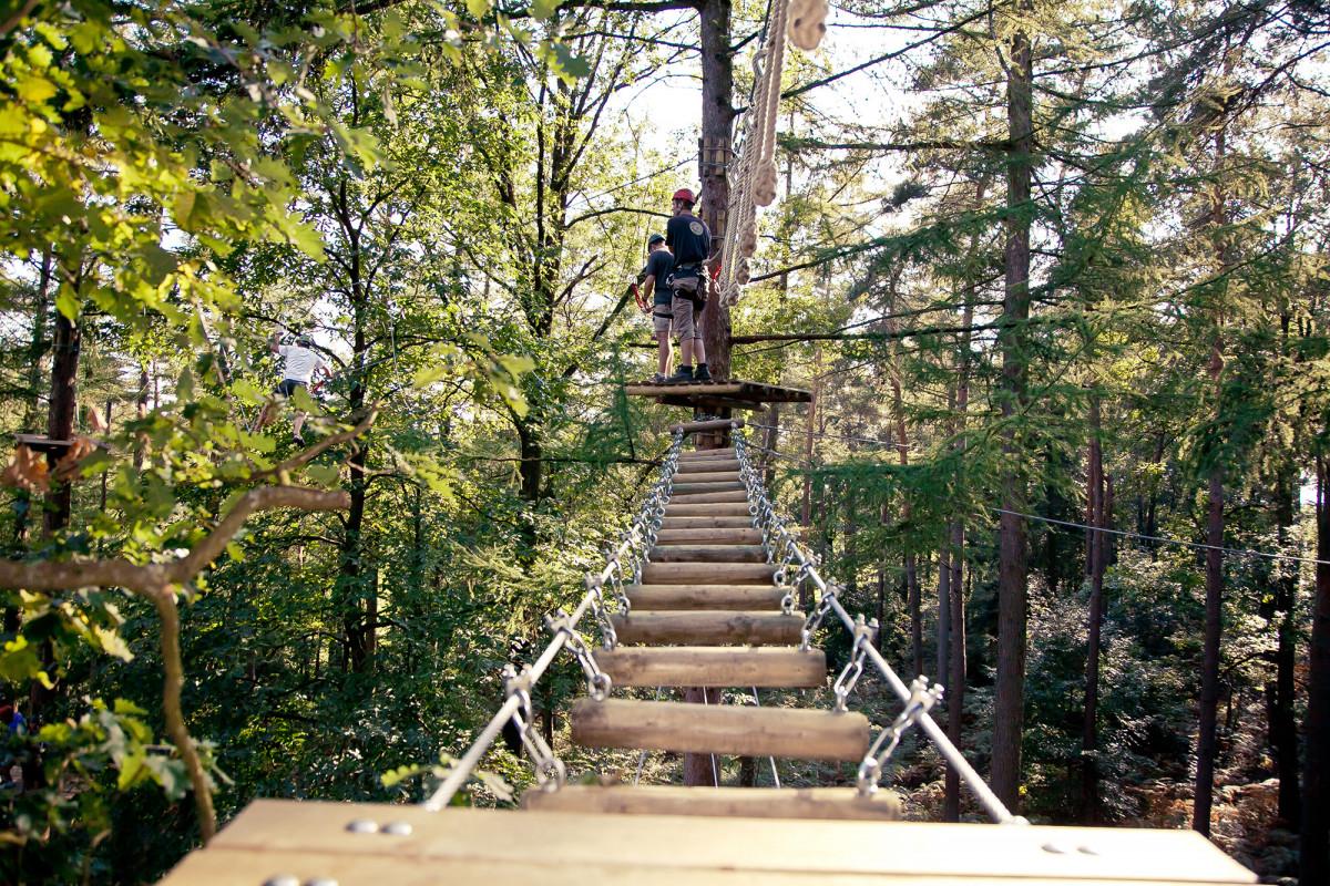 Forestia - Theux - Parcours 1 - Passerelle