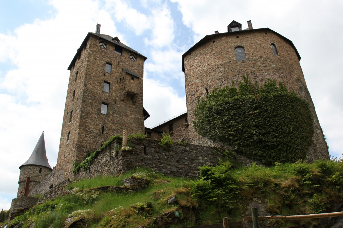 Chateau Reinhardstein - Waimes - Vue extérieure