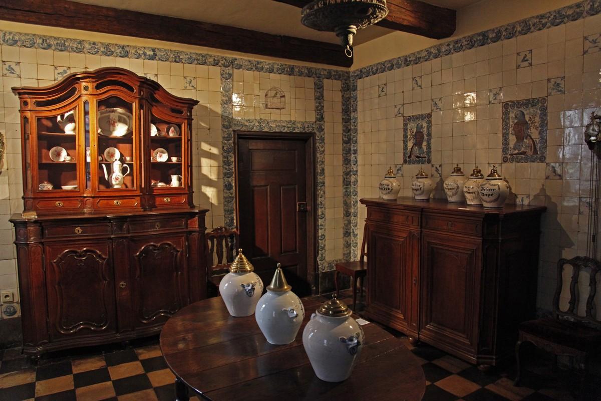 Musée d'Ansembourg - Liège - Vue intérieure
