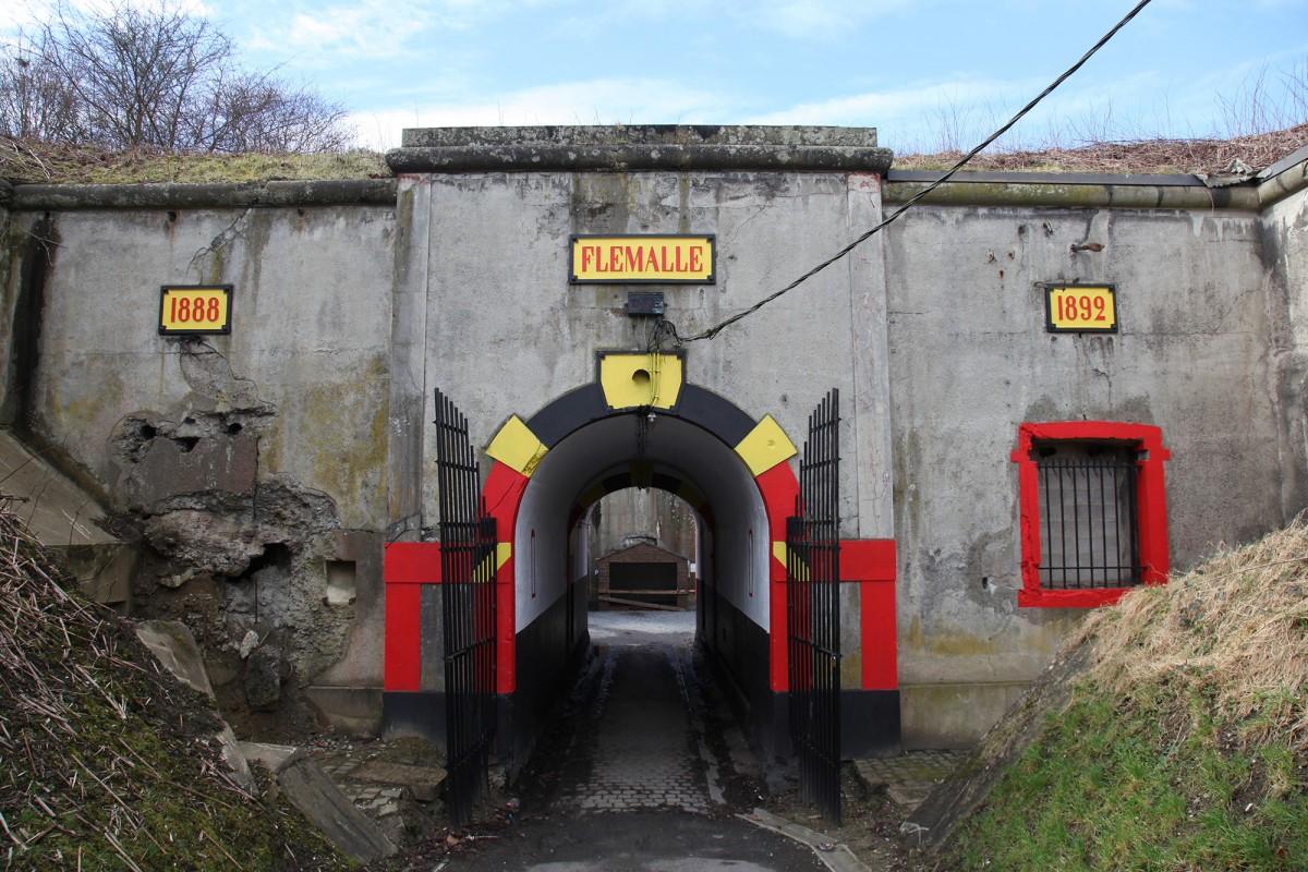 Fort de Flémalle - Flémalle - vue extérieure