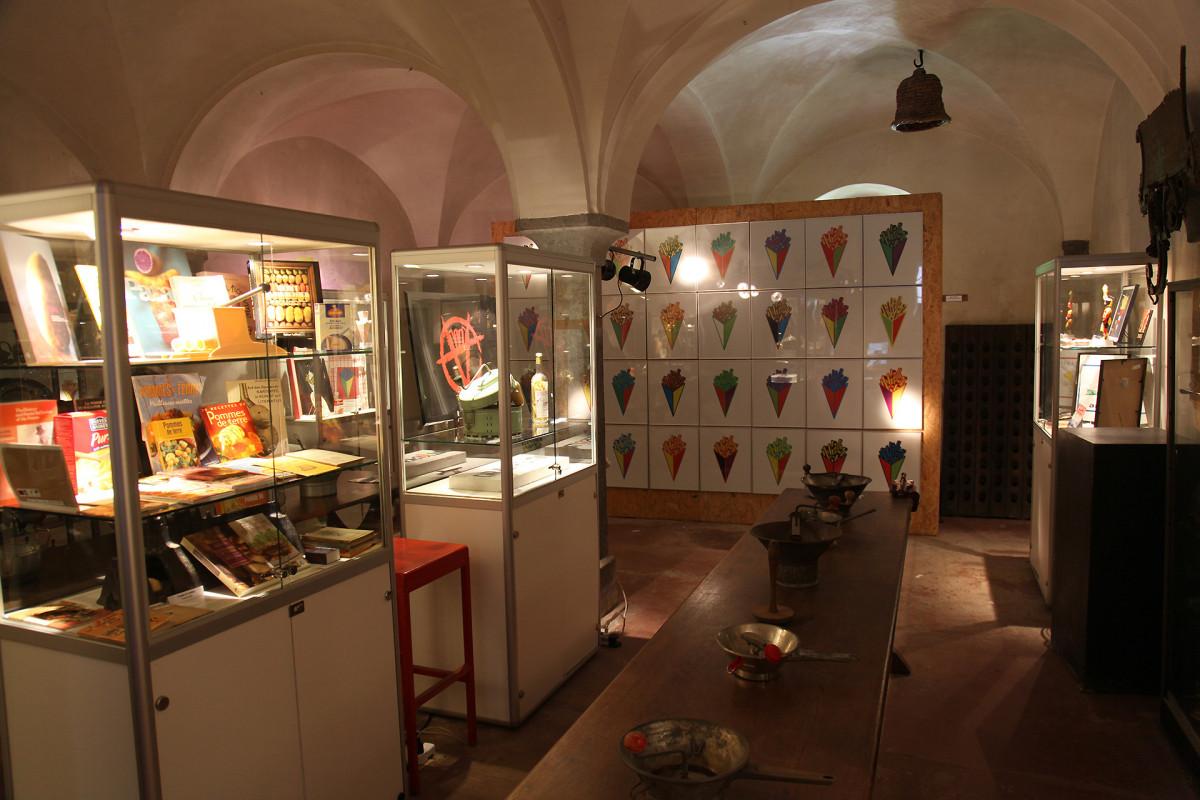 Musée de la Gourmandise - Hermalle s/Huy - Salle exo