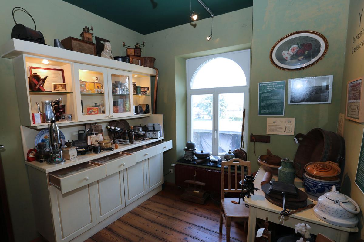 Musée de Wanne - Trois-Ponts - salle à manger