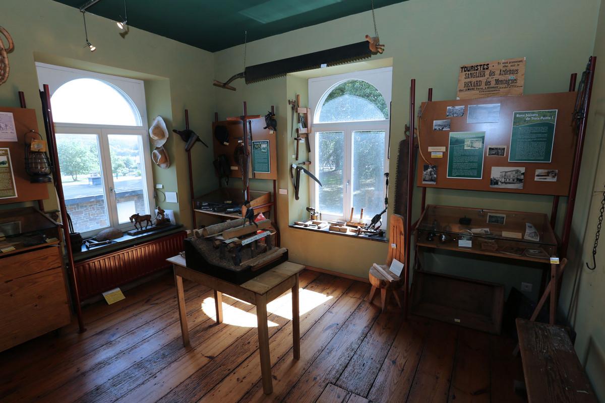 Musée de Wanne - Trois-Ponts - machine à écrire