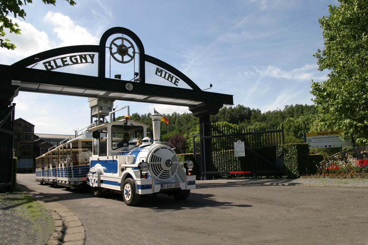 Blegny-Mine - Entrée