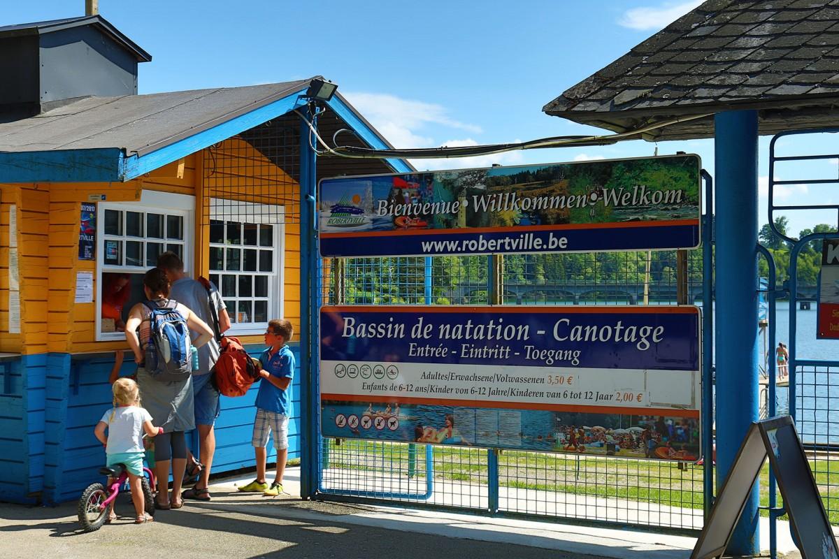 Robertville-les-Bains - Robertville - Entrée