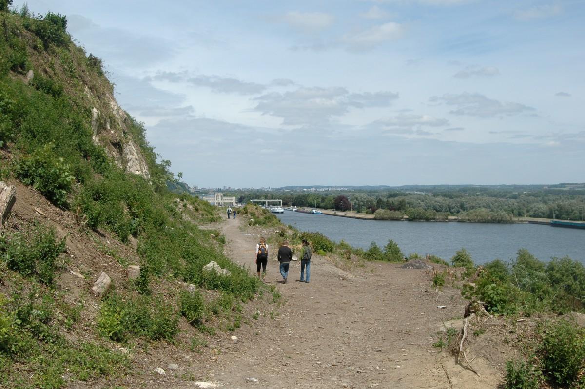 Montagne Saint-Pierre promenade