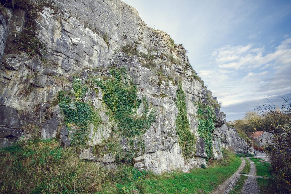 Château féodal de Moha - Moha - ruines