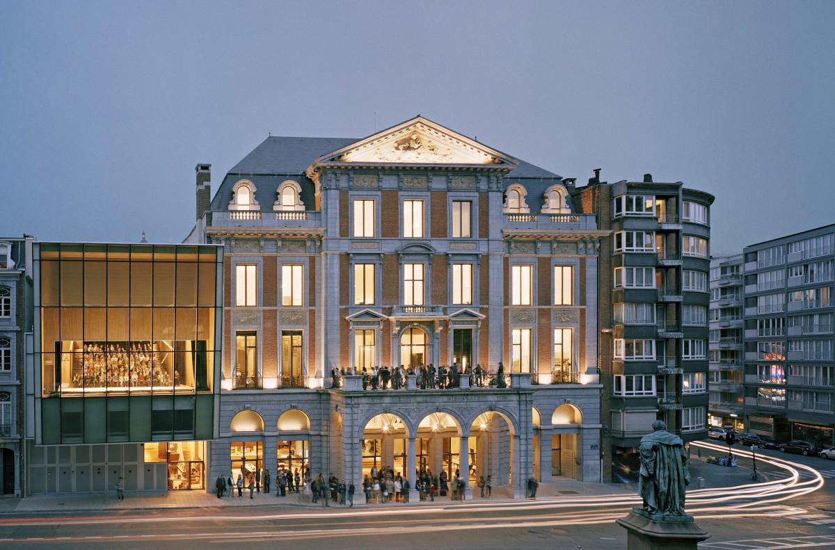 Théâtre de Liège - Liège - Façade