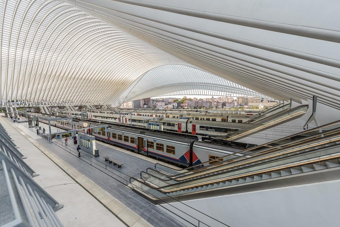 Gare de Liège-Guillemins - architecte Santiago Calatrava