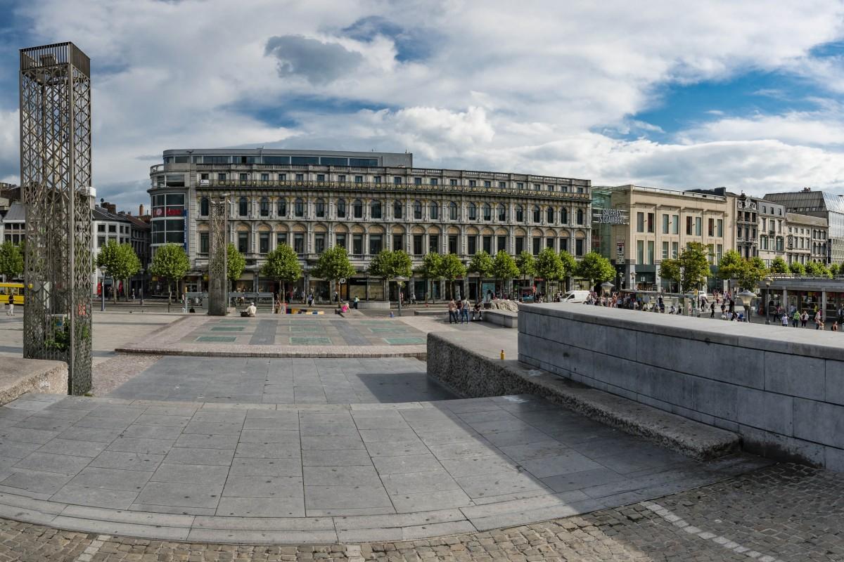 Liège - La place Saint-Lambert