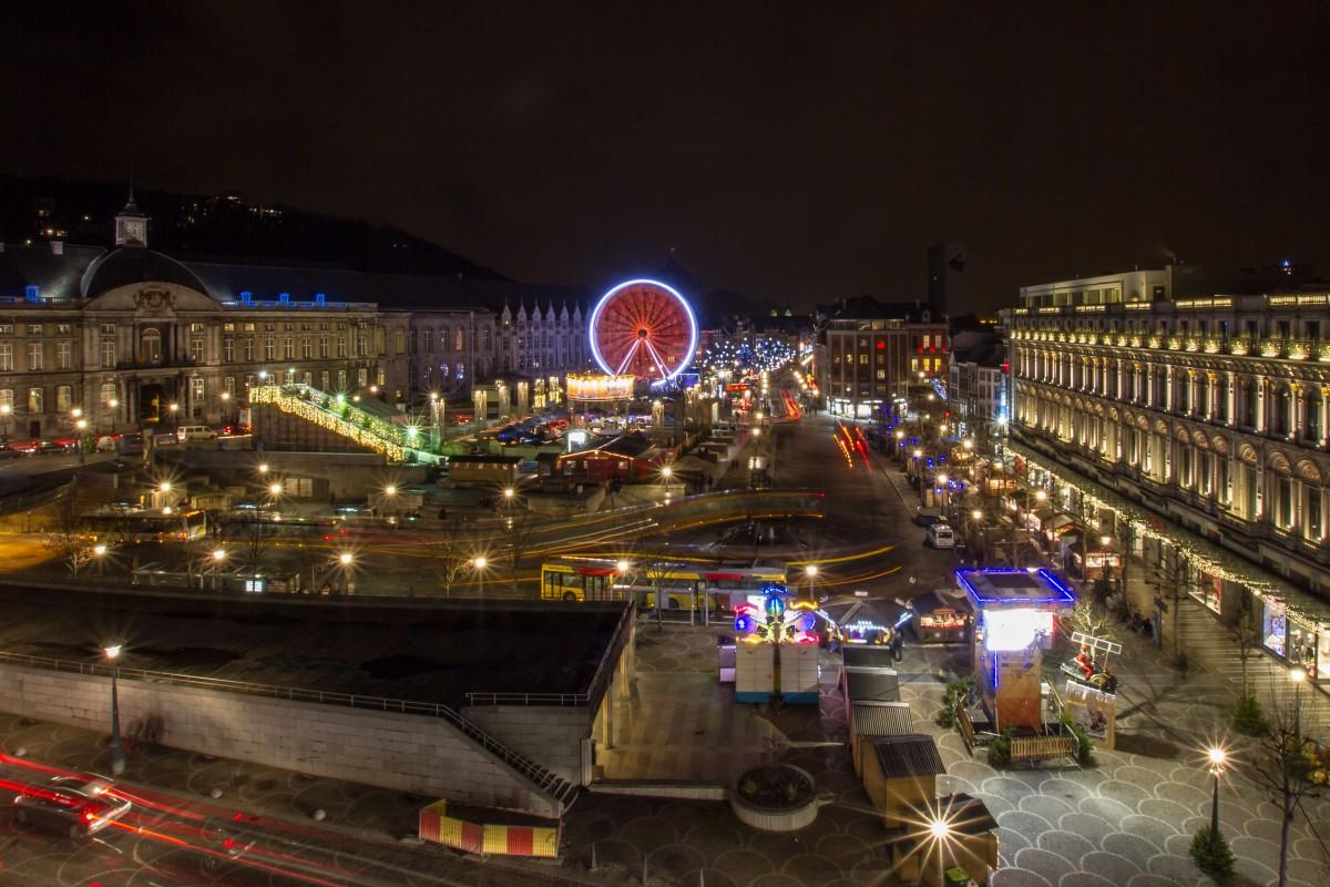 Liège - Vue Panoramique de la place Saint-Lambert