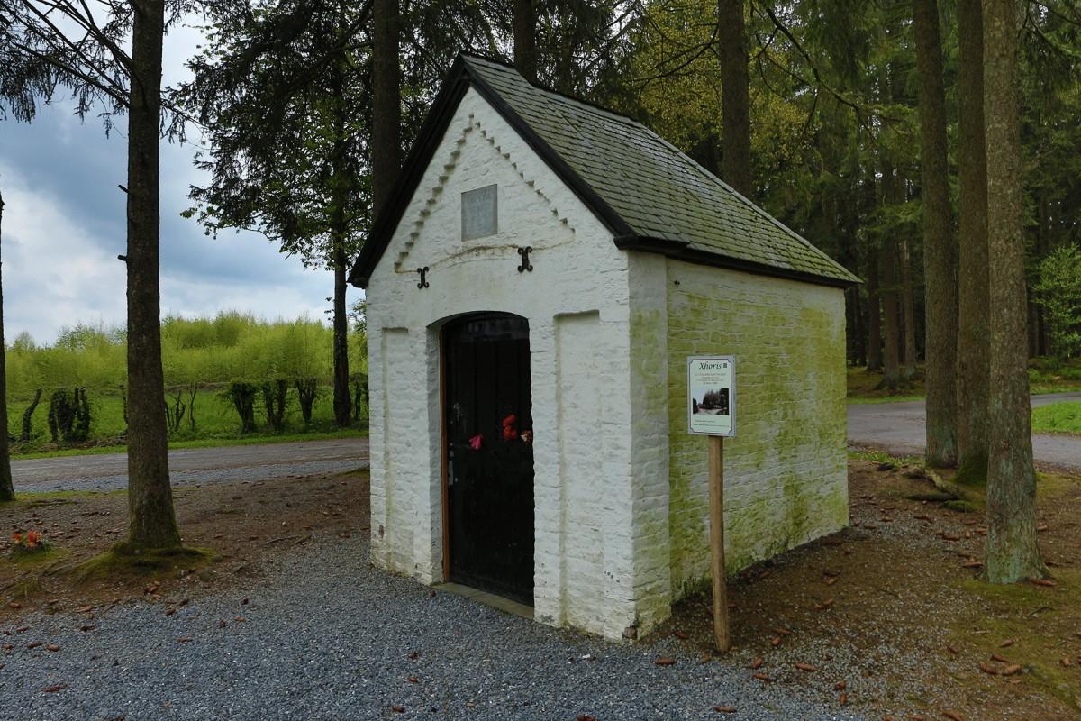 Chapelle Saint-Hubert - Ferrières - Façade