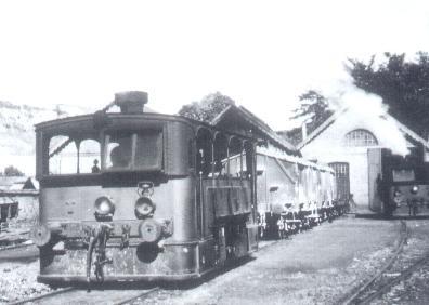 Vicinal Poulseur Le depot