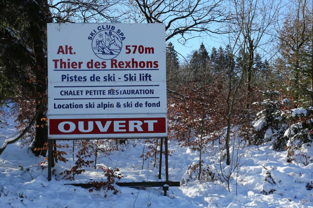 Thier des Rexhons - Panneau