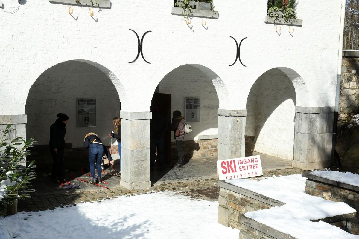 Source de la Géronstère - Spa - entrée Locations