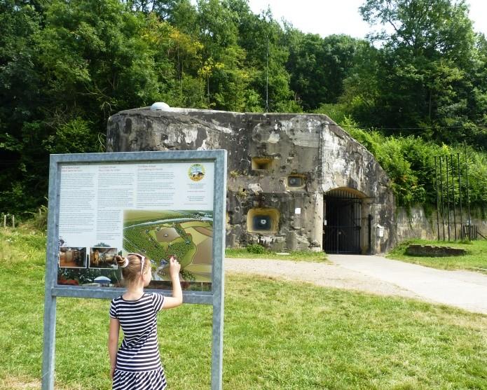 Fort Eben-Emael entrée - Bassenge