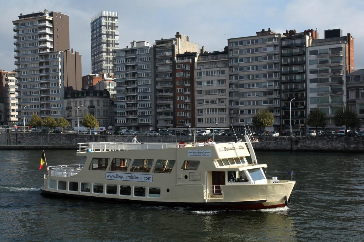 Liège Croisières pour groupes - Le Prince Albert