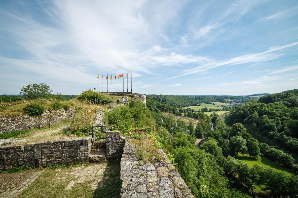 Château Fort de Logne - Ferrières - Panorama