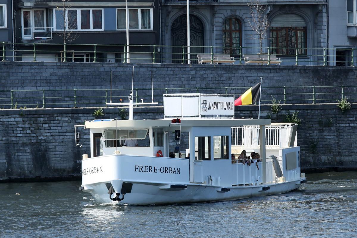 Liège - navette fluviale Frère ORBAN