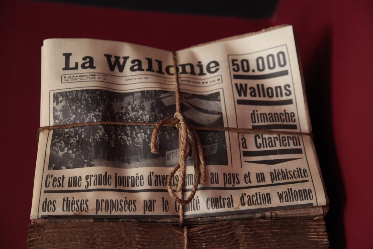 Musée de la Vie Wallonne - Liège - Journaux